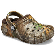 Crocs Boys' & Girls' Classic Lined Realtree Edge Clog