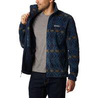 Columbia Men's Steens Mountain Full-Zip Print Fleece Jacket