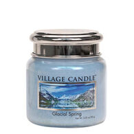 Village Candle Petite Glass Jar Candle - Glacial Spring