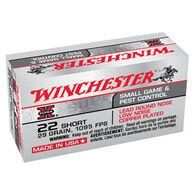 Winchester Super-X 22 Short 29 Grain LRN Ammo (50)