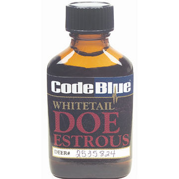 Code Blue Whitetail Doe Estrous Deer Attractant