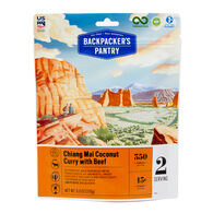 Backpacker's Pantry Thai Coconut Curry w/ Beef - 2 Servings