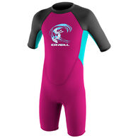 O'Neill Toddler Reactor II 2MM Back Zip Spring Wetsuit