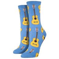 Socksmith Women's Guitars Crew Sock