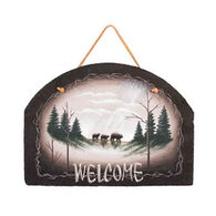 Ohio Wholesale Bear Welcome Slate Sign
