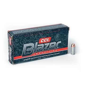 CCI Blazer 45 Colt 200 Grain JHP Handgun Ammo (50)