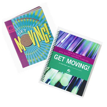 Girl Scouts How To Guide / Juniors Get Moving Book Set