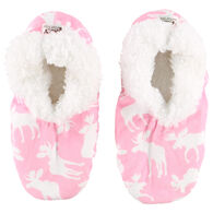 Lazy One Women's Classic Moose Fuzzy Feet