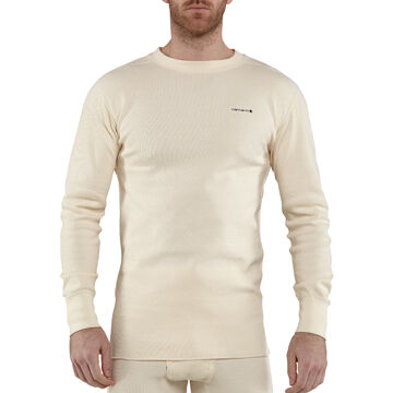 Carhartt Mens Base Force Cotton Super-Cold Weather Crewneck Top