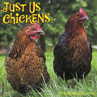 Willow Creek Press Just Us Chickens 2020 Wall Calendar