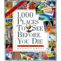 1,000 Places to See Before You Die Picture-A-Day 2019 Wall Calendar by Patricia Schultz