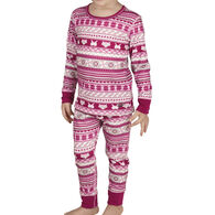 Hot Chillys Toddler Original II Print Baselayer Set