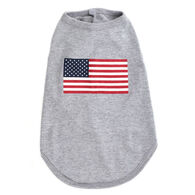 The Worthy Dog American Flag Dog Tee