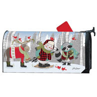 MailWraps Winter Fun Snowman Magnetic Mailbox Cover