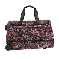 Vera Bradley Lighten Up 41 Liter Foldable Rolling Duffel Bag