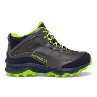 Merrell Boys' Moab Speed Mid Waterproof Hiking Boot