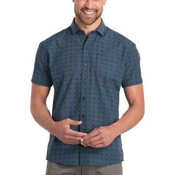 Kuhl Mens Intrepid Tapered Short-Sleeve Shirt