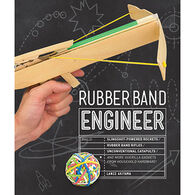 Rubber Band Engineer: Build Slingshot Powered Rockets, Rubber Band Rifles, Unconventional Catapults, and More Guerrilla Gadgets from Household Hardware by Lance Akiyama