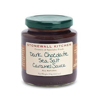 Stonewall Kitchen Dark Chocolate Sea Salt Caramel Sauce, 12.5 oz.