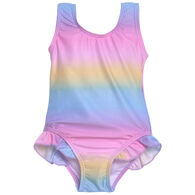 Flap Happy Toddler Girl's Delaney Hip Ruffle Swimsuit