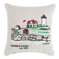 """Maine Balsam Fir 4"""" x 4"""" Nubble Light Balsam Pillow"""