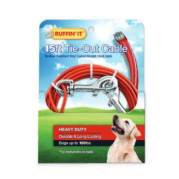 Ruffin It 15 Tie-Out Cable
