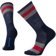 SmartWool Men's Striped Hike Light Crew Sock