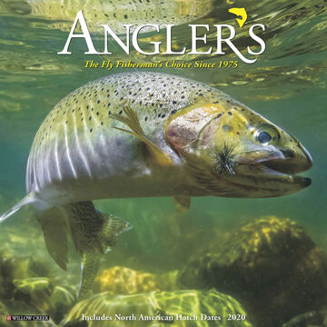Willow Creek Press Anglers 2020 Wall Calendar