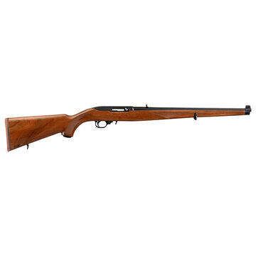 Ruger 10/22 Carbine Walnut Mannlicher 22 LR 18.5 10-Round Rifle