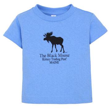 Original Design Infant Kittery Trading Post Black Moose Short-Sleeve T-Shirt