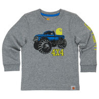 Carhartt Boys' 4x4 Monster Truck Long-Sleeve T-Shirt