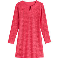 Coolibar Women's Diamond Crotchet UPF+50 Tunic Dress