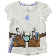 Carhartt Toddler Girl's Graphic Toolbelt Short-Sleeve T-Shirt
