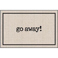 High Cotton Doormat - Go Away Matt