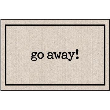 High Cotton Doormat - Go Away Matt