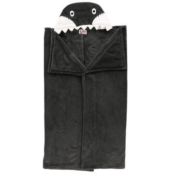 Lazy One Kids Shark Critter Hooded Blanket