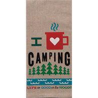 Kay Dee Designs Love Camping Chambray Tea Towel