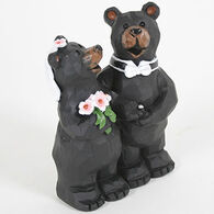 Slifka Sales Co Bride And Groom Bears Figurine