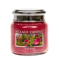 Village Candle Petite Glass Jar Candle - Wild Rose