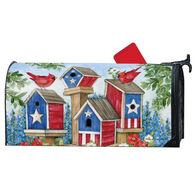 MailWraps All American Birdhouses Magnetic Mailbox Cover