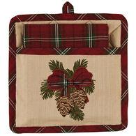 Park Designs Highland Holiday Pocket Potholder Set