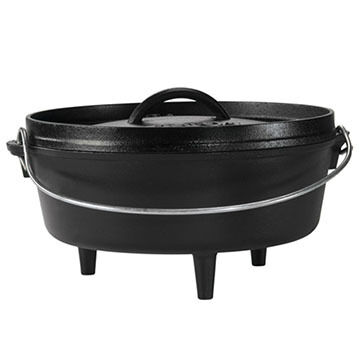 "Lodge 10"" / 4 Quart Camp Dutch Oven"