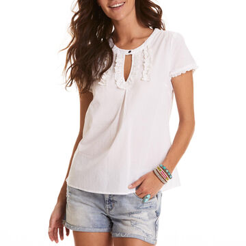 Odd Molly Womens Dearest Short-Sleeve Blouse