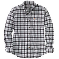 Carhartt Men's Big & Tall Rugged Flex Relaxed Fit Flannel Plaid Long-Sleeve Shirt