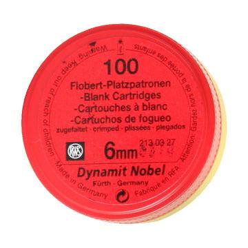 Dynamit Nobel 22 Cal. 6mm Blank Rimfire Cartridge (100)