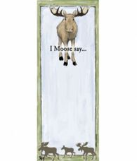 Hatley I Moose Say Magnetic List Note Pad