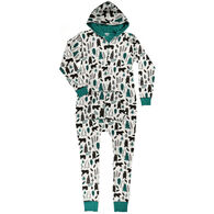 Lazy One Women's Woodland Hooded Onesie