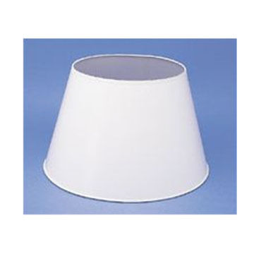 "Aladdin Mantle Lamp 14"" White Parchment Shade"