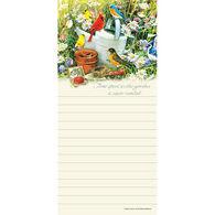 Pumpernickel Press Songbird Garden Magnetic List Notepad
