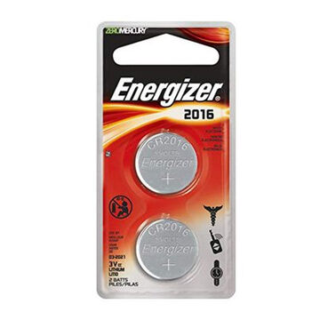 Energizer Coin Lithium 2016 Battery - 2 Pk.